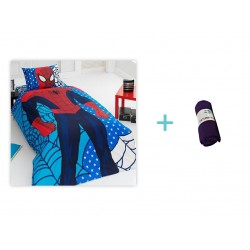 Lenjerie Disney Spiderman 1 + 1 Patura Fleece