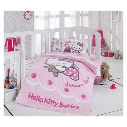 Lenjerie Hello Kitty Ribbon, Bebe