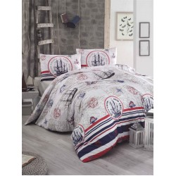 Lenjerie Latte Fairway+Patura Blanket 160x200