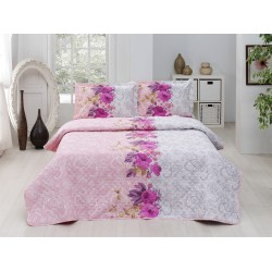 Set de pat all seasons 200x220 Rosado